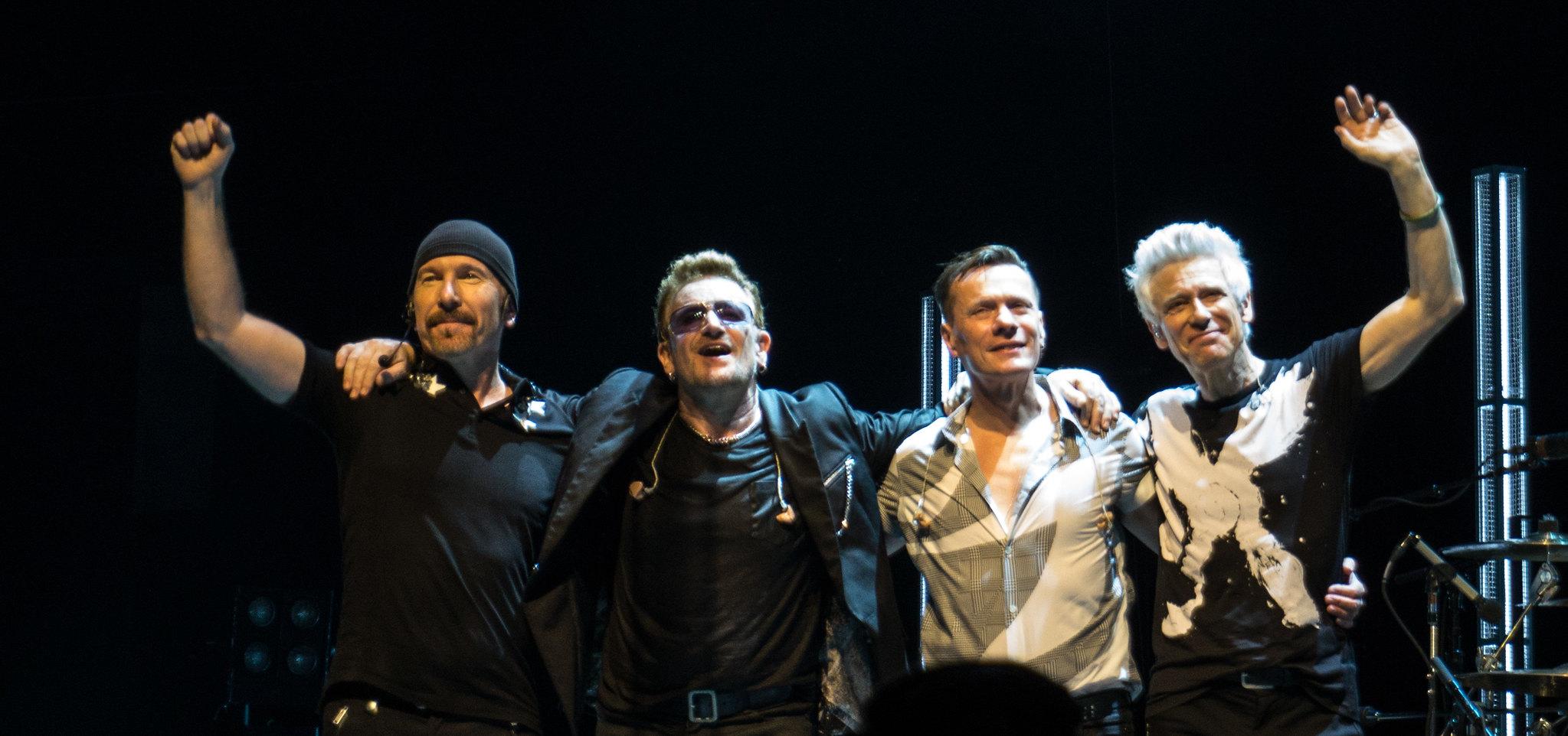 Bandas de rock viejas U2